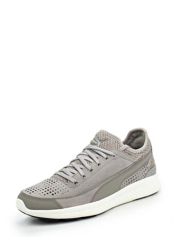 Кроссовки Puma Ignite Sock Кроссовки Puma. Цвет: серый. Материал: искусственная замша