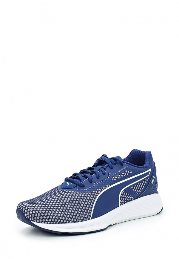 Кроссовки Puma IGNITE 3 Кроссовки Puma. Цвет: синий. Материал: искусственный материал