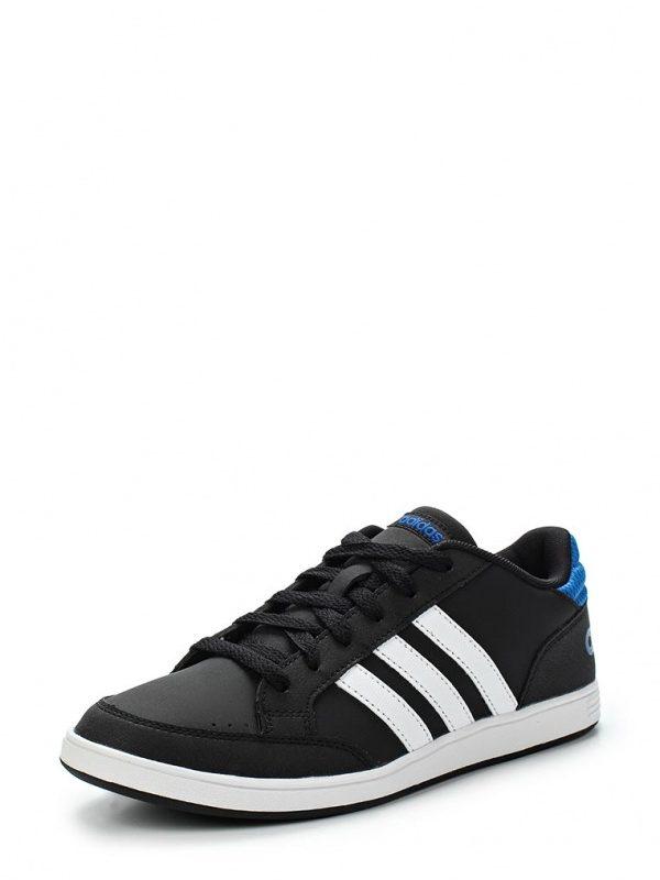 Кроссовки adidas Neo HOOPS K Кроссовки adidas Neo. Цвет: черный. Материал: искусственная кожа