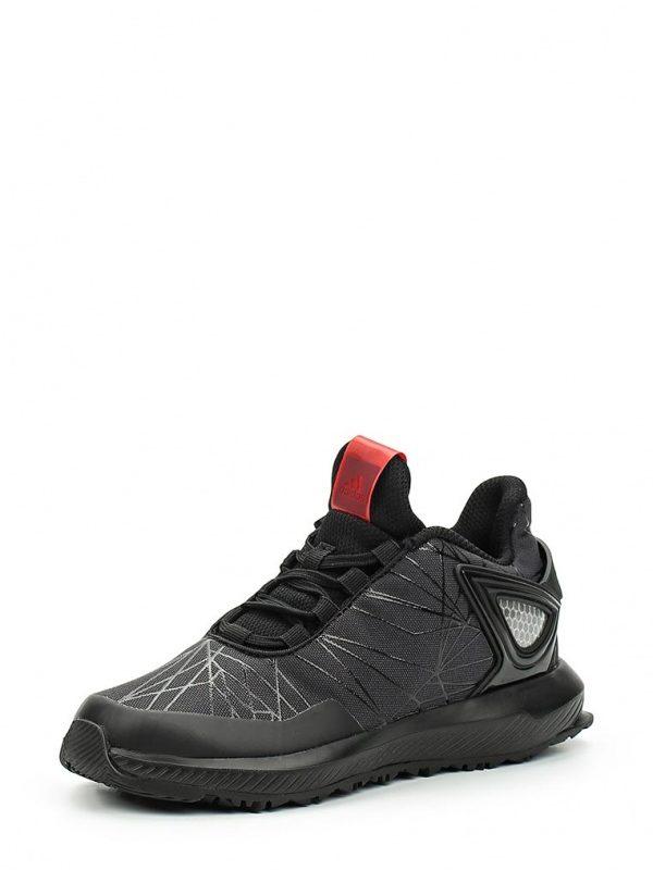 Кроссовки adidas Performance Spider-Man RapidaRun K Кроссовки adidas Performance. Цвет: черный. Материал: искусственный материал