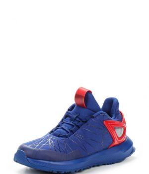 Кроссовки adidas Performance Spider-Man RapidaRun K Кроссовки adidas Performance. Цвет: синий. Материал: полимер